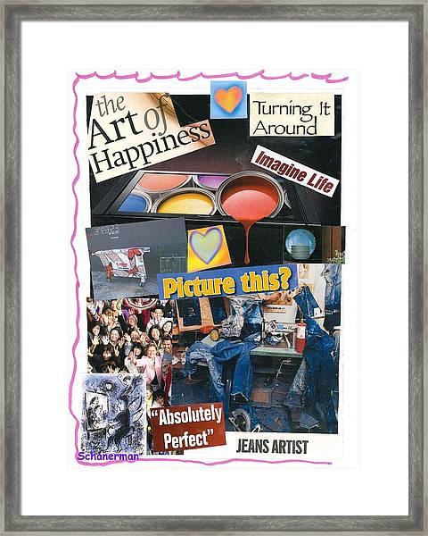 heARTmatters Framed Print