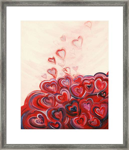 Hearts Given To God Framed Print