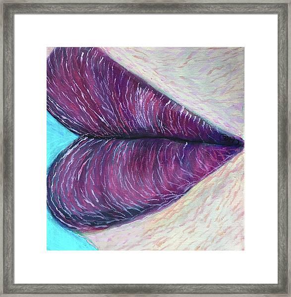 Heart's Kiss Framed Print