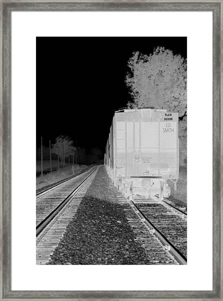 Heat Of The Night Framed Print