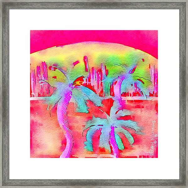 Heatwave Framed Print