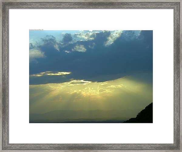 Heavanly Glow Framed Print by John Geck