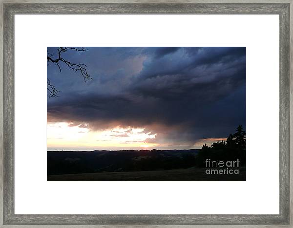 Heaven Speaks Framed Print by JoAnn SkyWatcher