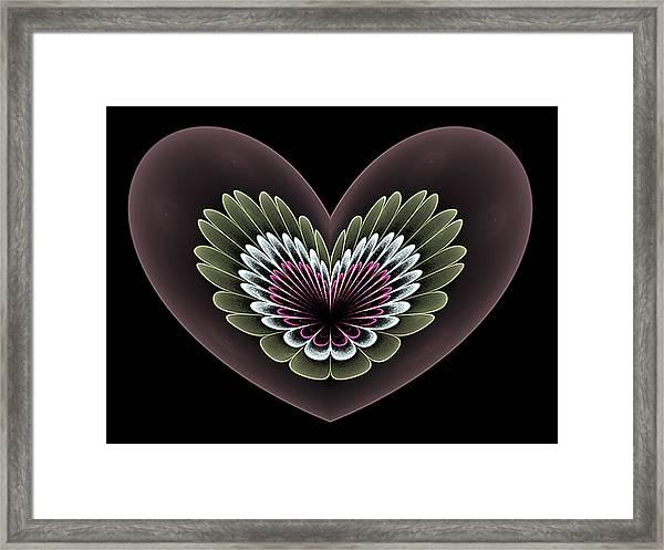 Heavenly Heart Framed Print