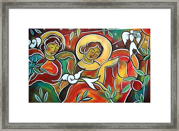 Heavenly Hosts Framed Print
