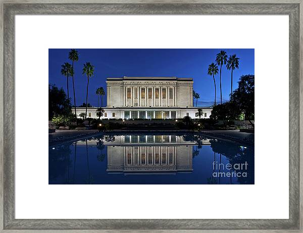 Heavenly Reflections Framed Print
