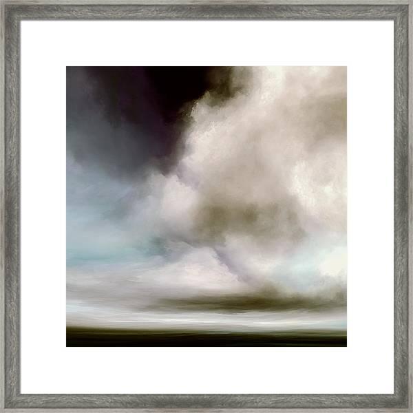 Heavens Divide Framed Print