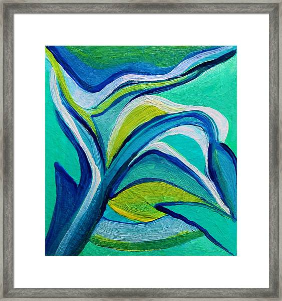 Heavy Bud Framed Print