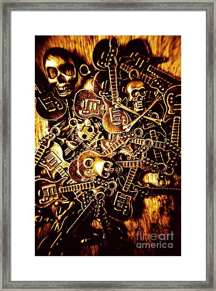 Heavy Metal Mix Framed Print