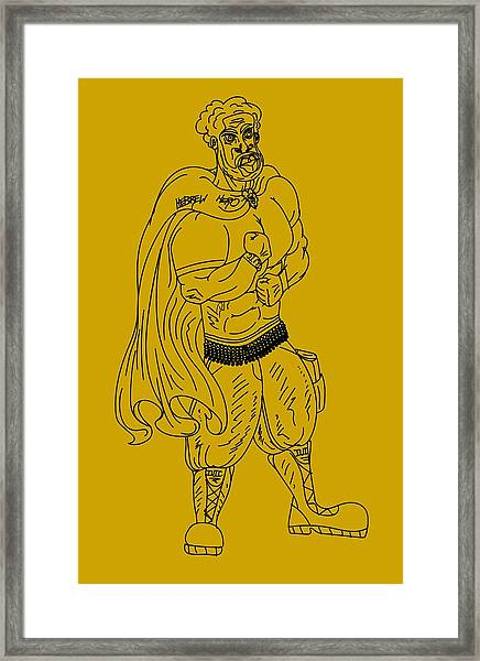 Hebrew Hero Framed Print