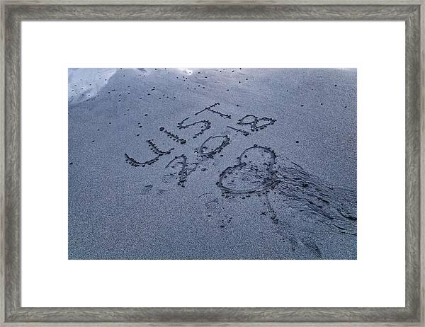 Hebridean Love Framed Print