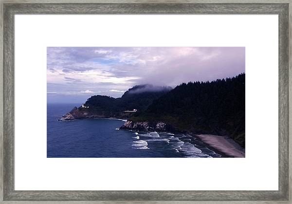 Heceta Head Lighthouse, Oregon Framed Print