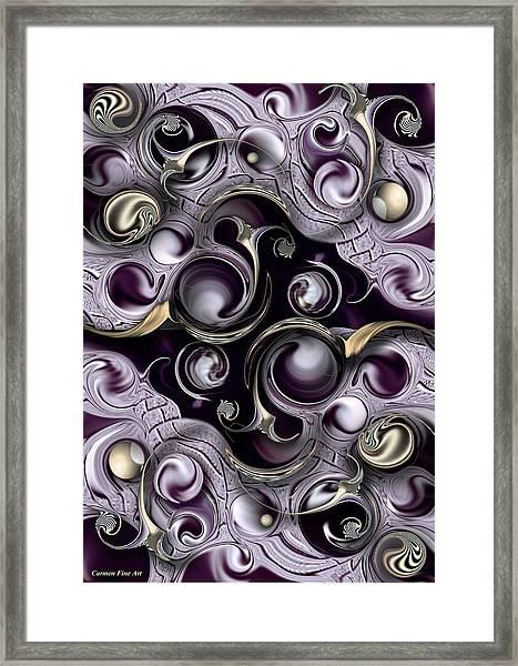 Hedonic Energy Framed Print