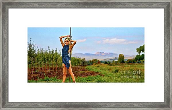 Heidi Estrella #1 Framed Print