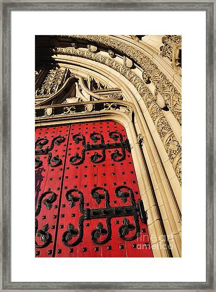 Heinz Chapel Doors Framed Print
