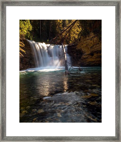 Heir Of Time Framed Print