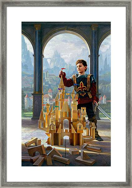 Heir To The Kingdom Framed Print