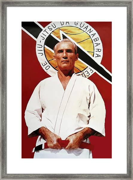 Helio Gracie - Famed Brazilian Jiu-jitsu Grandmaster Framed Print