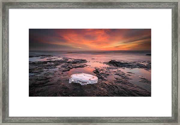Hello Winter Framed Print