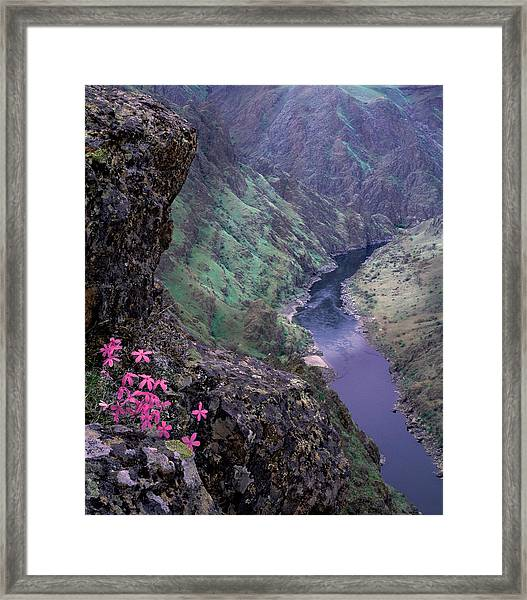 Hells Canyon Framed Print