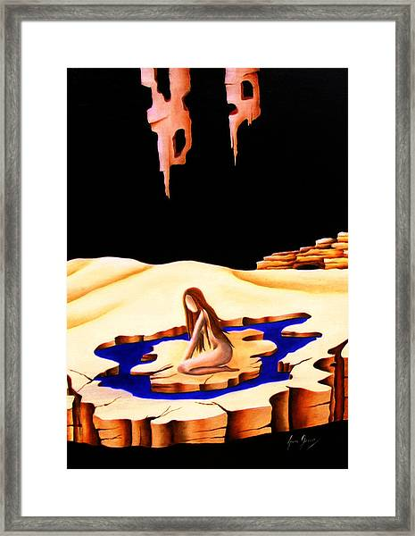 Helplessness Framed Print