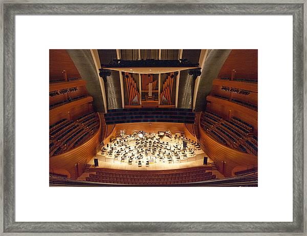 Helzberg Hall Framed Print