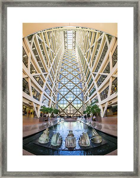 Hennepin County Government Center In Minneapolis Minnesota Framed Print