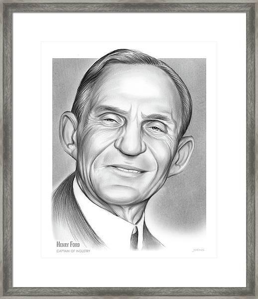 Henry Ford Framed Print