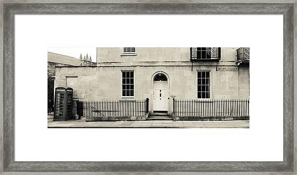 Henry Street Framed Print