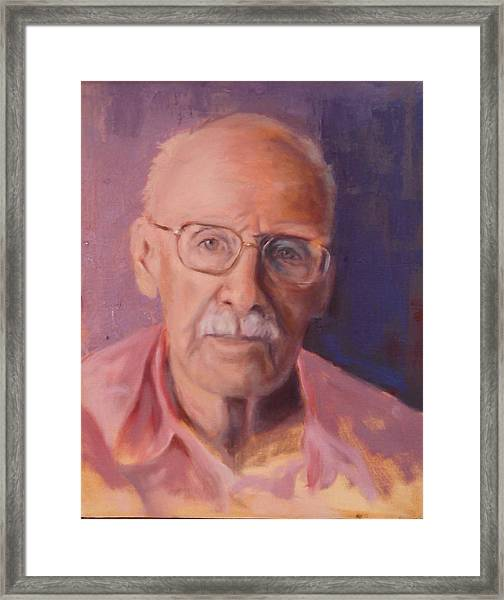 Her Father Framed Print by Marcia Hochstetter