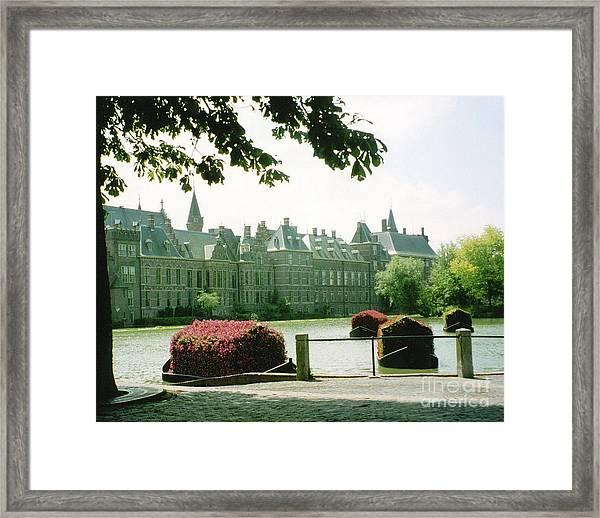 Her Majesty's Garden Framed Print