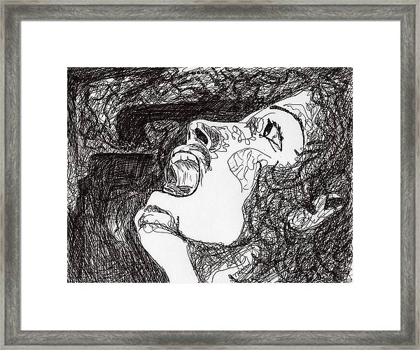Her Own Personal Demons Framed Print