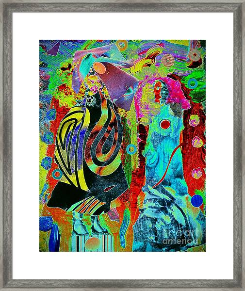 Her Time Has Come Framed Print