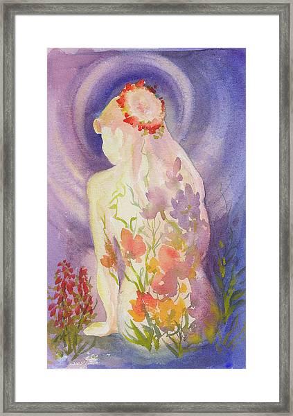 Herbal Goddess  Framed Print