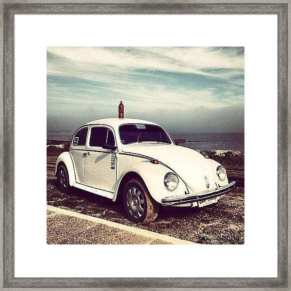 Herbie For Sale Framed Print