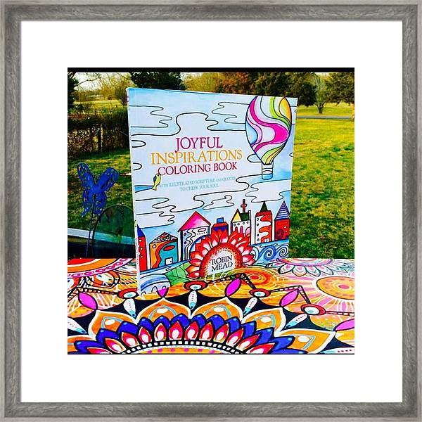Here Is The Official #joyfulnspirations Framed Print