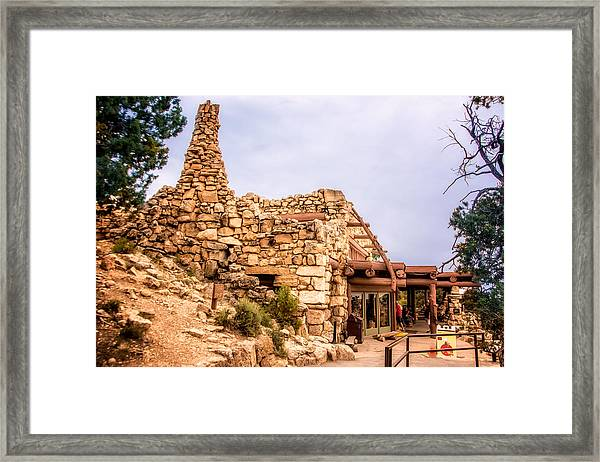 Framed Print featuring the photograph Hermits Rest by Claudia Abbott