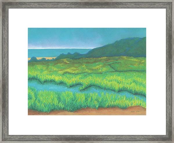 Heron's Home Framed Print
