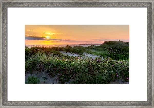Herring Cove Beach Framed Print