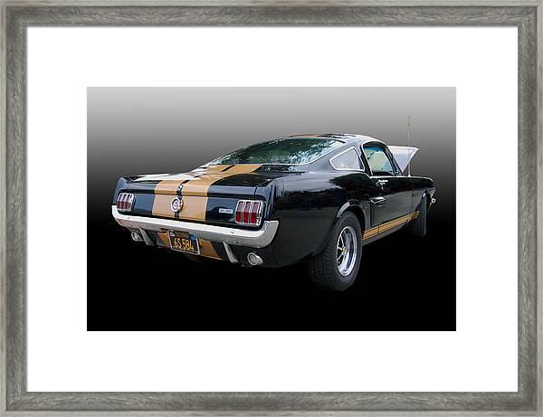 Hertz Rent-a-racer Framed Print
