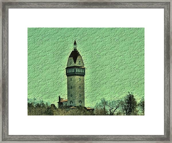 Heublein Tower Framed Print