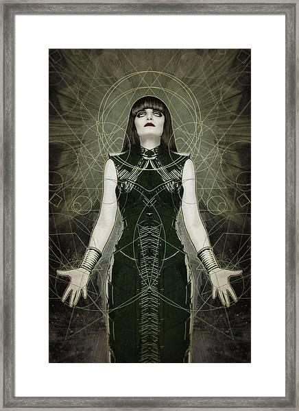 Hexymphony Framed Print