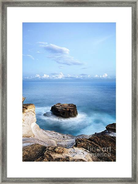 Hidden Island Framed Print