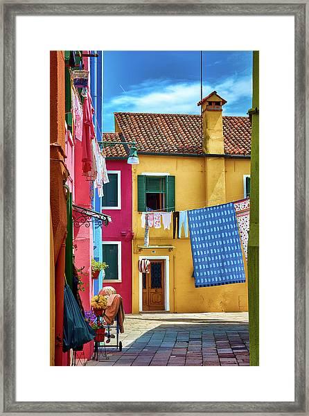 Hidden Magical Alley Framed Print