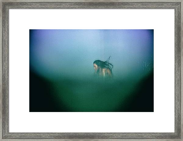 Hidden Framed Print