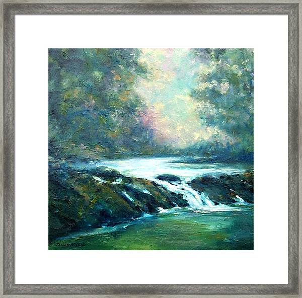Hidden Oasis Framed Print by James Roybal