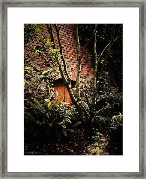 Hidden Passage Framed Print