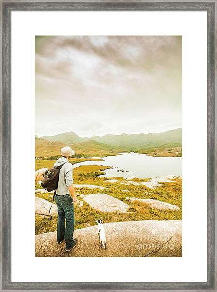 Hidden Tasmania Trails Framed Print