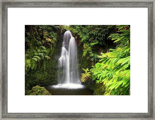 Hidden Waterfall Framed Print