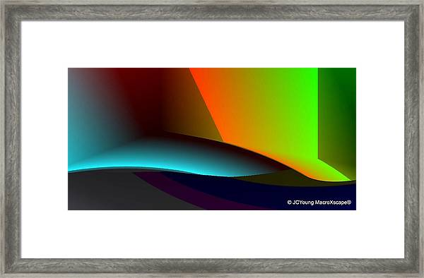Hideout Framed Print by JCYoung MacroXscape